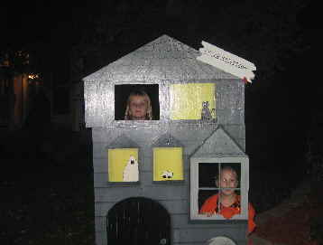Spooky Street Little Haunted House